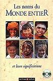 echange, troc Eugène Vroonen - Les noms du monde entier et leurs significations