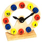 Bigjigs Toys BJ301 Clockby Bigjigs Toys