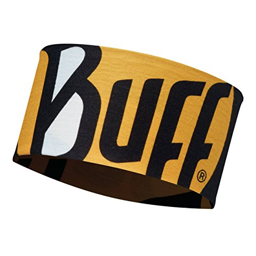 Buff Ultimate Logo Fascia Fronte, Giallo, Taglia Unica
