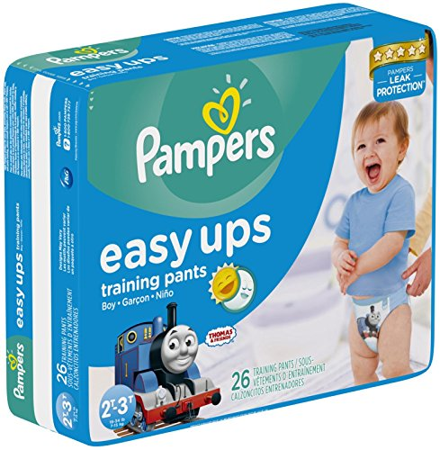 Pampers Easy-Ups Training Pants - Boys - 2T-3T - 26 ct - 1