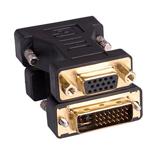 ROLINE Adapter (DVI Stecker auf VGA Buchse)