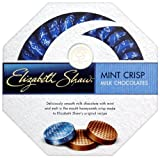 Elizabeth Shaw Milk Chocolate Mint Crisp 175 g (Pack of 2)