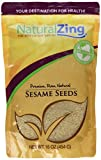 Raw Organic Natural Sesame Seeds Unhulled-16 ozs.