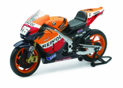 DANI PEDROSA NO.26 REPSOL HONDA RC212V 1/12 DIE CAST MODEL MOTOGP REPLICA NEW RAY (Honda Models compare prices)