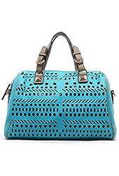 MyLUX Studded PU Leather or Laser Cut texture Satchel bag