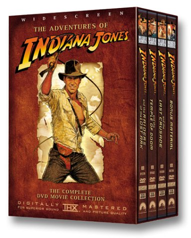 The Adventures of Indiana Jones (Raiders of the Lost Ark/ Temple of Doom/ Last Crusade) - Widescreen Edition