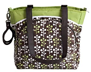 jj cole mode diaper tote bag cocoa tree discontinued by manufacturer baby. Black Bedroom Furniture Sets. Home Design Ideas