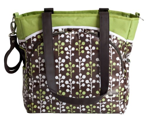 JJ Cole Mode Diaper Tote Bag, Cocoa Tree