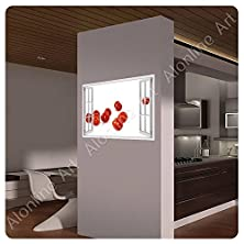 "buy Alonline Art Big Photo Paper Poster Fake 3D Window Tomatos Vitamins 39""X28"" - 99X71Cm Gallery Photos Poster Print Reproduction Art Wall Art Decor Prints Fine Art"