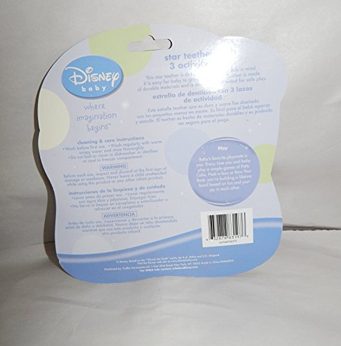 Disney Baby Star Teether With 3 Activity Link (Winnie the pooh)