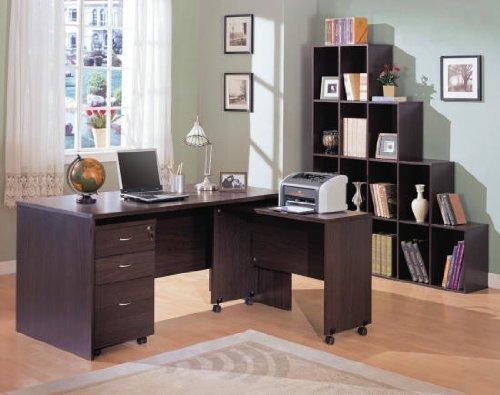 Simply Beautiful Espresso Finish Desk Home Office Furniture