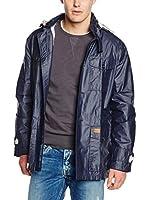 Pepe Jeans London Chaqueta Impermeable Herman (Azul Marino)