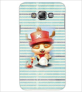 PrintDhaba Cartoon D-4613 Back Case Cover for SAMSUNG GALAXY A7 (Multi-Coloured)