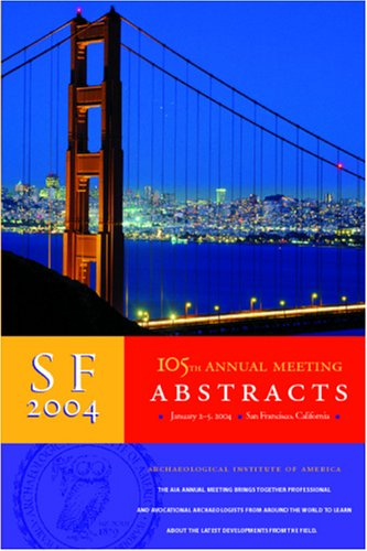 105th Annual Meeting Abstracts, vol. 27 (None)