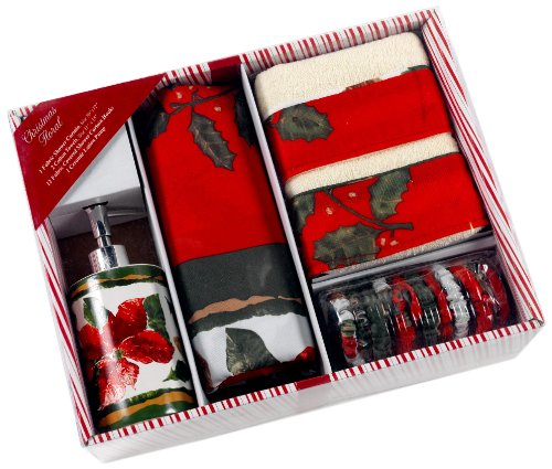 Christmas Floral Bath Set