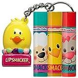 Lip Smacker Happy Chick Lip Balm Collection & Keychain Topper