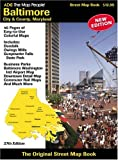 img - for Baltimore City & County, Maryland Map: book / textbook / text book