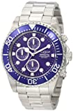 Invicta Men's Quartz Watch Invicta Pro Diver 1769 with Metal Strap