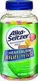 Alka-Seltzer Heartburn Relief Chews, 60 Count