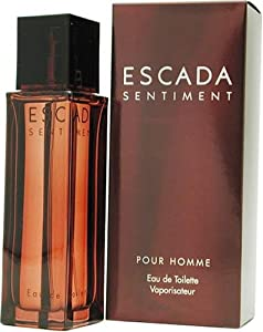 Escada Sentiment By Escada For Men. Eau De Toilette Spray 3.4 Ounces