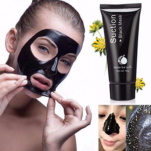 Purificante Maschera LuckyFine Blackhead acne al viso Pulizia profonda Purificante Whitening Maschera di fango