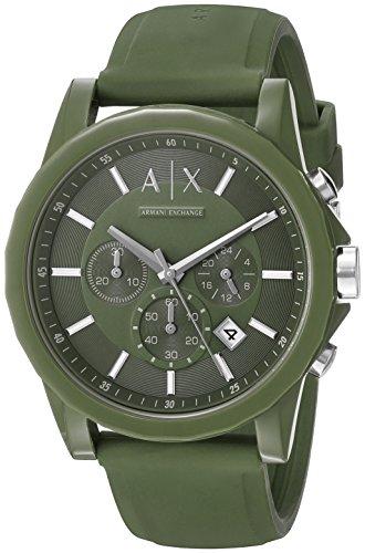 Armani-Exchange-Unisex-AX1329-Analog-Display-Analog-Quartz-Green-Watch