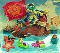 Mcdonalds Disney Muppet Tub Toys (Set of 4) Vintage 1995
