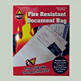US Patrol Fire Resistant Document Bags - Three Pack