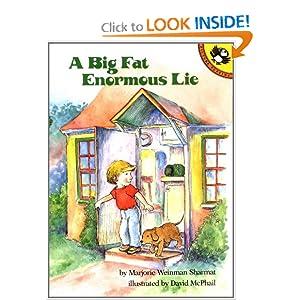 A Big Fat Enormous Lie Marjorie Weinman Sharmat and David McPhail