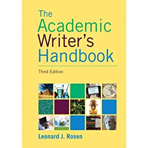 VangoNotes for The Academic Writer's Handbook, 3/e | [Leonard J. Rosen]