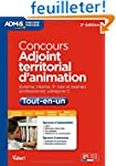 Concours Adjoint territorial d animat...