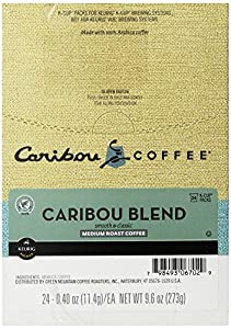 Caribou Coffee Caribou Blend, K-Cups for Keurig Brewers, 24-Count