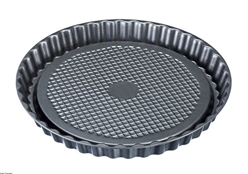 Westmark 32942270 Fruit Tart Tin Nonstick Coated Perfect for Cakes & Pies, 11