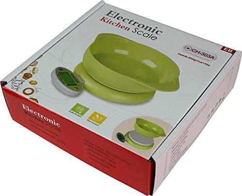 ARETOP® Balance numérique un bol pour Colis et Aliments, Pèse Cuisine avec Fonction Tare Capacité 5kg