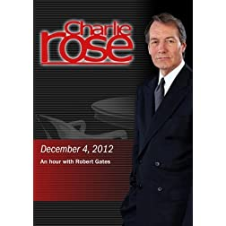 Charlie Rose -An hour with Robert Gates (December 4, 2012)