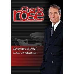 Charlie Rose -An hour with Robert Gates (December 4, 2012)