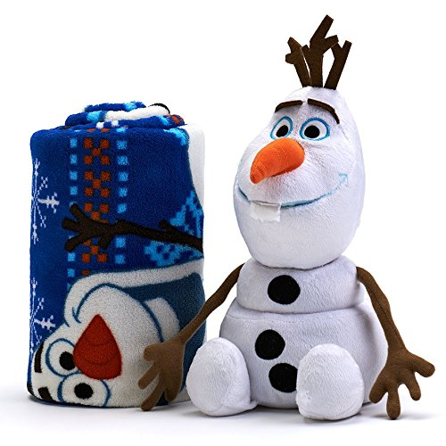 Learn More About Disney Frozen Olaf 2-pc. Pillow & Plush Throw Set - Fleece Blanket