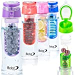 Babz Fruit Infusing Water Bottle with...