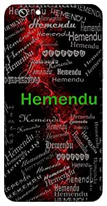 Hemendu (Golden Moon.) Name & Sign Printed All over customize & Personalized!! Protective back cover for your Smart Phone : Samsung Galaxy S6 Edge