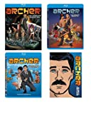 Archer Season 1-4 [Blu-ray] Season 1 2 3 4