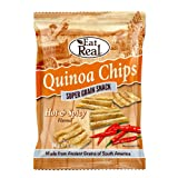 Eat Real Quinoa Hot Spicy Chips 80g x 2 Pack Deal Saver