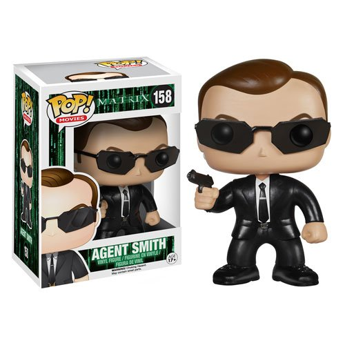 The Matrix Agent Smith Pop! Vinyl Figure - 1
