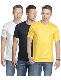 Fundoo-T Classy Men's Round Neck T-Shirt Set Of 3