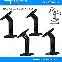 2.1,5.1,7.1 Wall / Ceiling mount(MultiDirection) for Surround Speakers (Pack Of 4 Mounts)