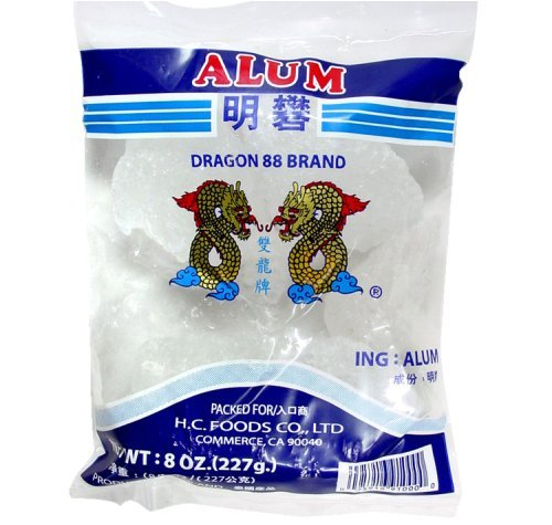 Dragon 88 Brand Alum Crystals 8 Oz - 227g Bag
