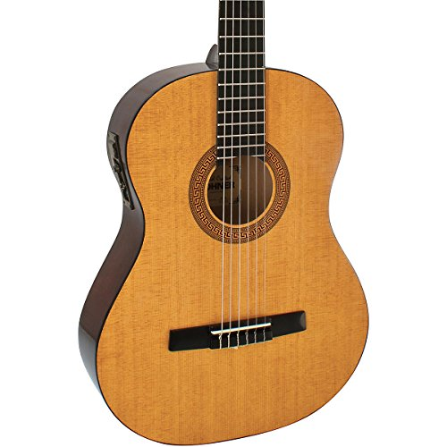 Hohner Hc06E Full Sized Nylon String Guitar With Electric Preamp