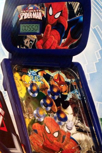 THE-ULTIMATE-SPIDER-MAN-Tabletop-Pinball