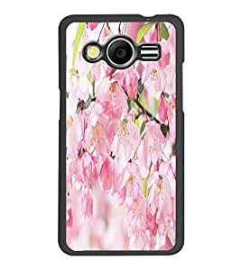 PrintDhaba Flowers D-5515 Back Case Cover for SAMSUNG GALAXY CORE 2 G355H (Multi-Coloured)