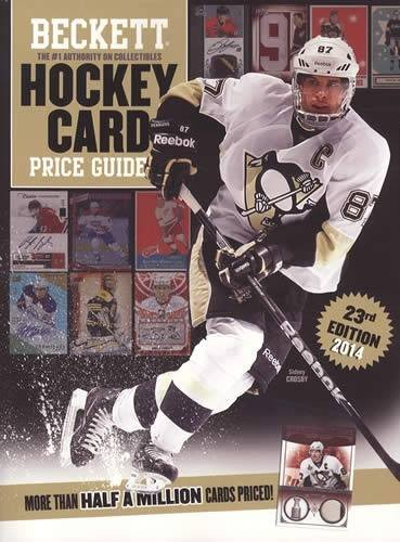 Beckett Hockey Card Price Guide: 2013 Edition