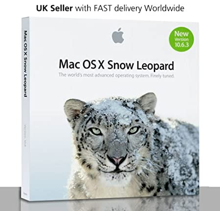 Mac OS X Snow Leopard - ( v. 10.6.3 ) - media - VLA - DVD